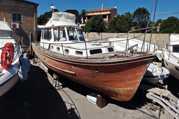 Motomar 43 in cantiere