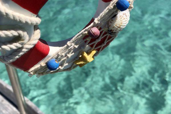 La Maddalena sea water color